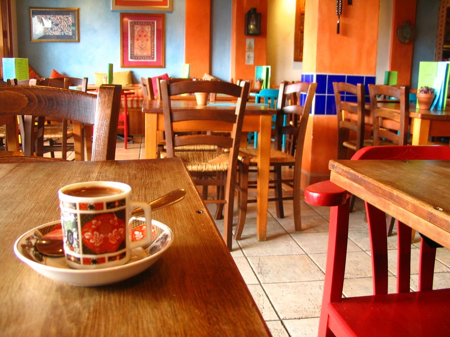 New Day Cafe - Saturday: Orange