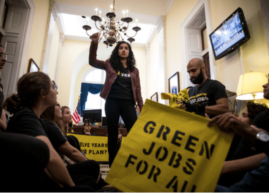 Five Questions for Sunrise co-founder Varshini Prakash about climate activism and a Green New Deal