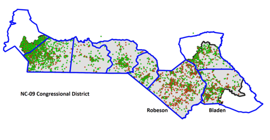 Robeson County, NC's absentee Bermuda Triangle