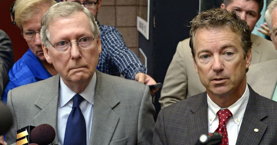 KY-Sen: Rand Paul (R) Singles Out Mitch McConnell (R) For Holding Up Criminal Justice Reform Bill