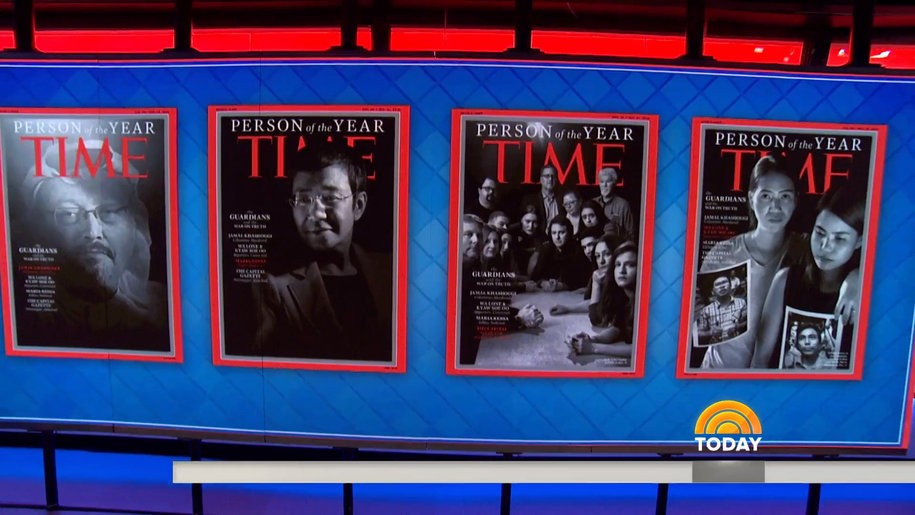 Jamal Khashoggi and other persecuted journalists are Time Magazine's people of the year