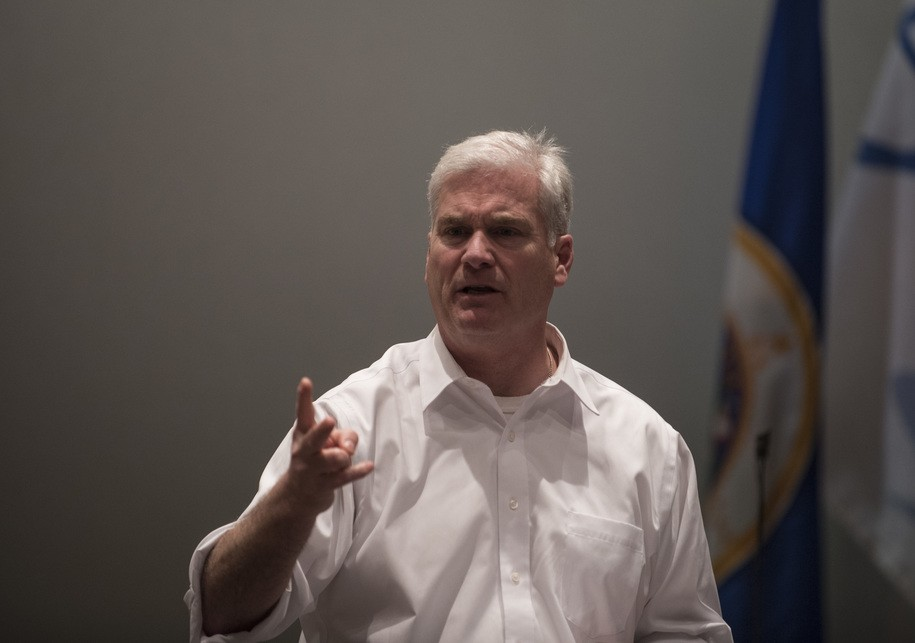 Democrats file ethics complaint over Republican 'trackers' roaming House halls