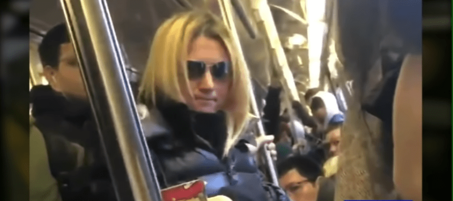 Racist white woman arrested after attacking Asian woman with umbrella on subway in viral video