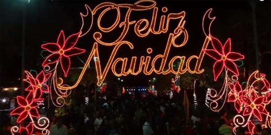 Christmas In Puerto Rico.Feliz Navidad Wishing You A Puerto Rican Christmas