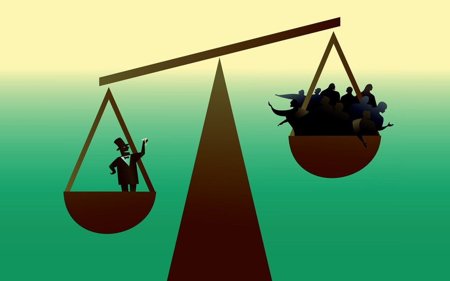 A growing economy has quieted most talk of income and wealth inequality. Guess what? Still with us