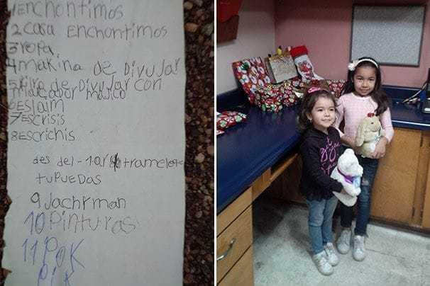 Feliz Navidad. Mexican Girl Sends Santa Her List By Balloon, Arizona Man Finds and Fills It.