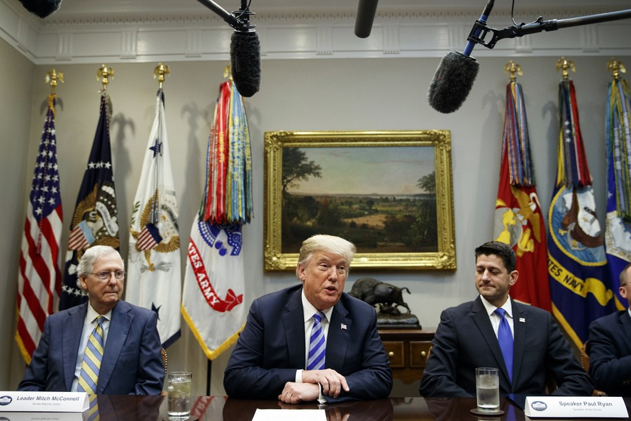 Republicans wash their hands of responsibility for finding way out of Trump's shutdown, as usual