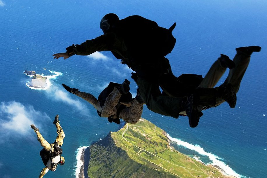 Science proves it is safe to jump from a plane without a parachute but don't call it a leap of faith