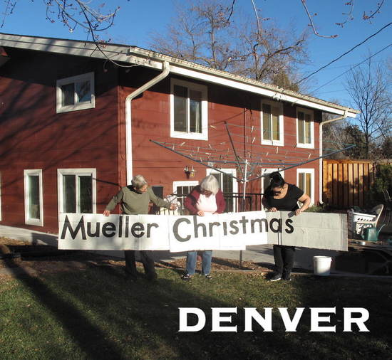 First Amendment protected Mueller Christmas freeway sign.