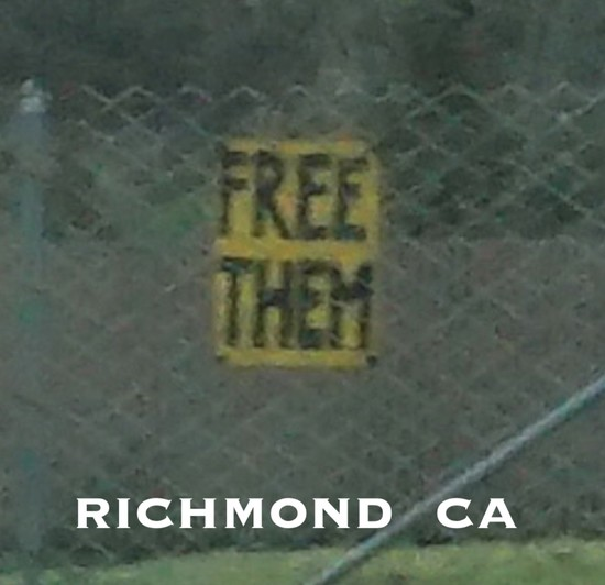 First Amendment protected sign by California freeway