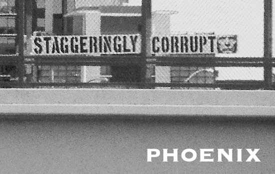 First Amendment protected sign by US freeway.