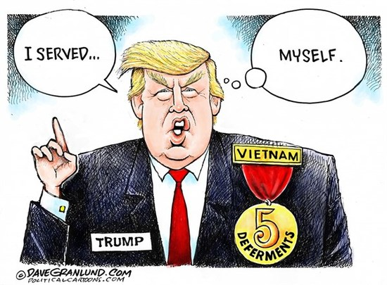 The New York Times Reveals How Cadet Bone Spurs Got His Military ...