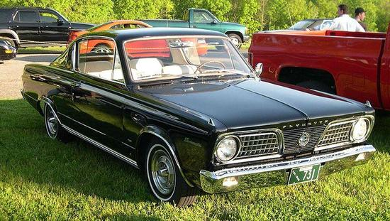 1966 20plymouth 20barracuda Attribution The First Ever Pony Car