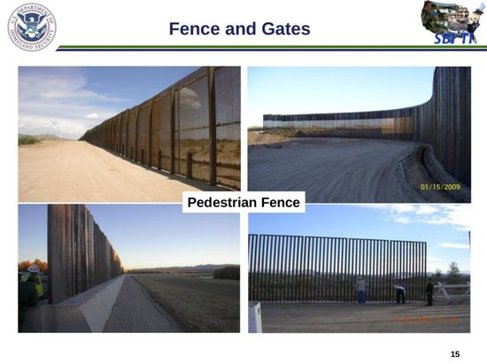 Pedestrian Barriers at the Border