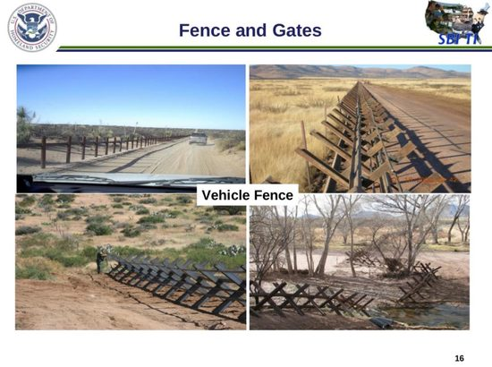 VehIcle Barriers at the Border