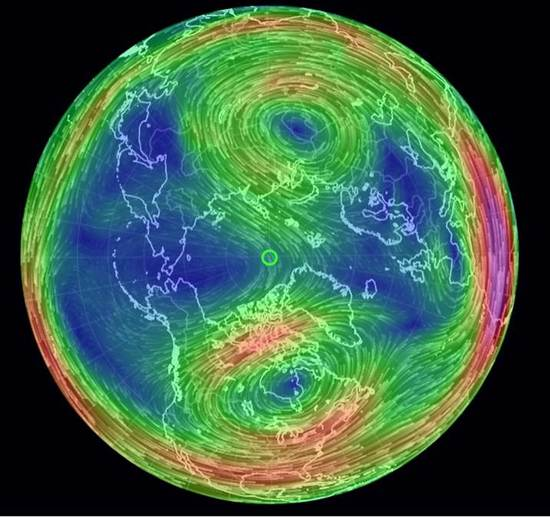 The Splitting Of The Polar Vortex Means A Very Cold Wind Is Headed