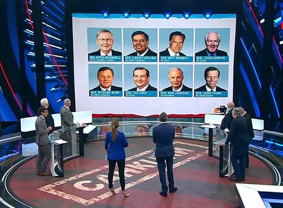 There are 42 Russian Assets in the United States Senate: The Filthy 42 are now Russian TV Stars