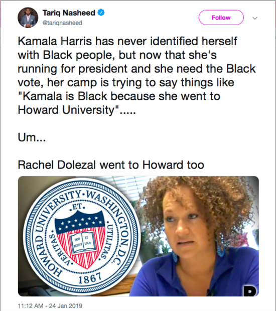 Image result for is kamala harris black enough?