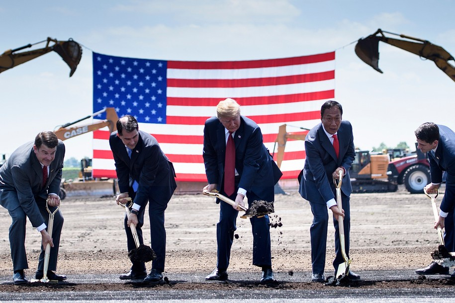 Foxconn's promised 'innovation centers' in Wisconsin are nothing but vacant space