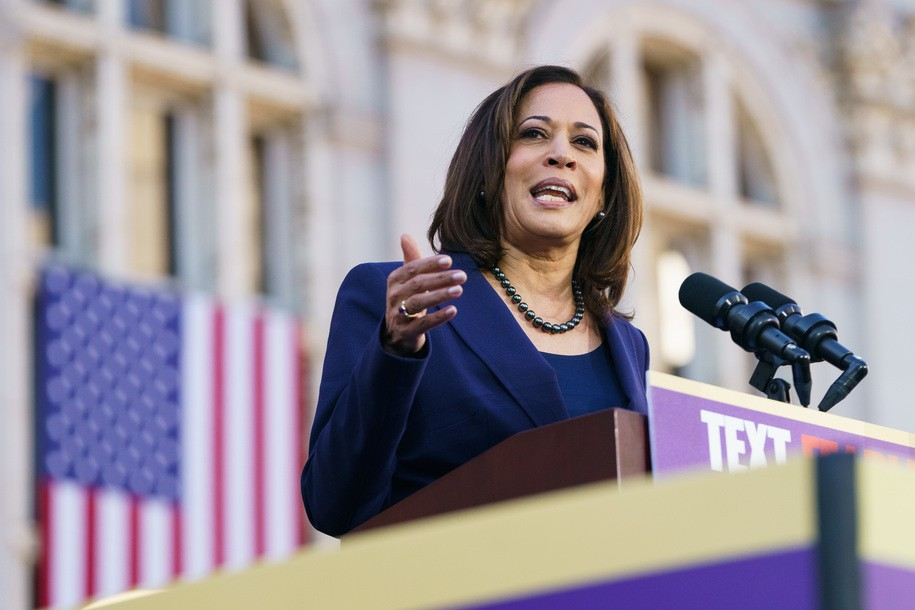 Kamala Harris stakes out ground as public education champion with plan to close teacher pay gap