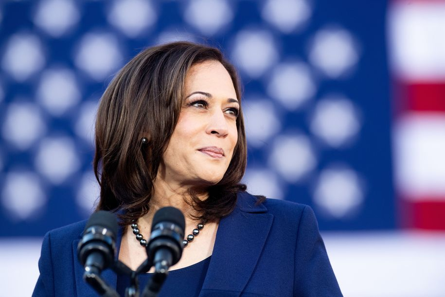 Kamala Harris talks about the new 'race card' and how we must embrace 'America's identity'