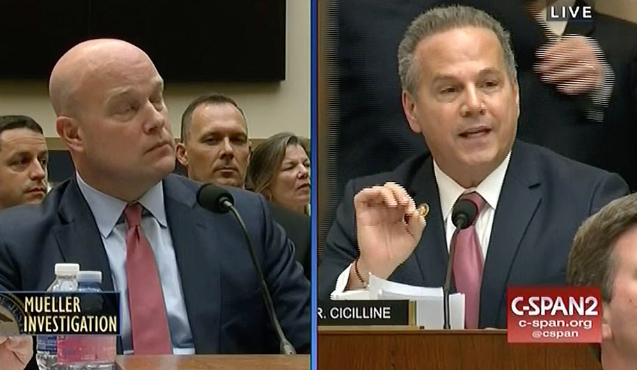 Democratic Rep. blows AG Whitaker's hair back with rapid fire questioning