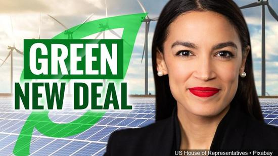 Green New Deal graphic