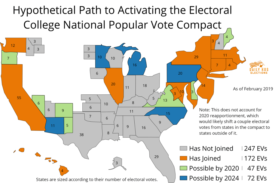 Voting Rights Roundup: How the Electoral College could give way to a national popular vote by 2024