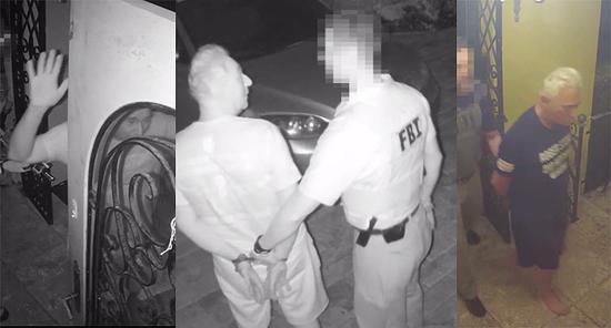 Image result for roger stone pre-dawn FBI raid
