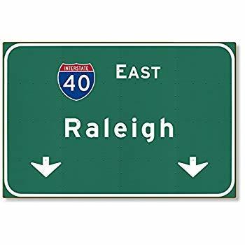 North Carolina Open Thread: Raleigh history