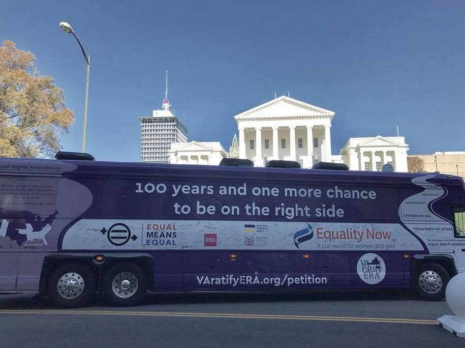 Virginia House Republicans Just Killed the Equal Rights Amendment - Let's Vote Them Out This Year!