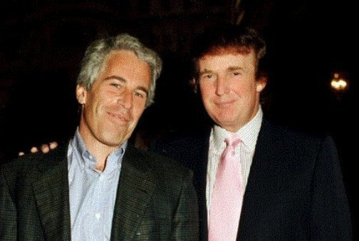 Image result for epstein trump pic