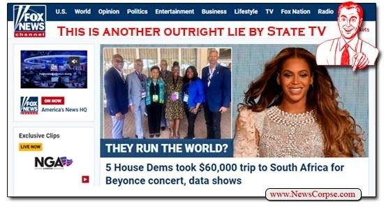 Fox News, Beyonce