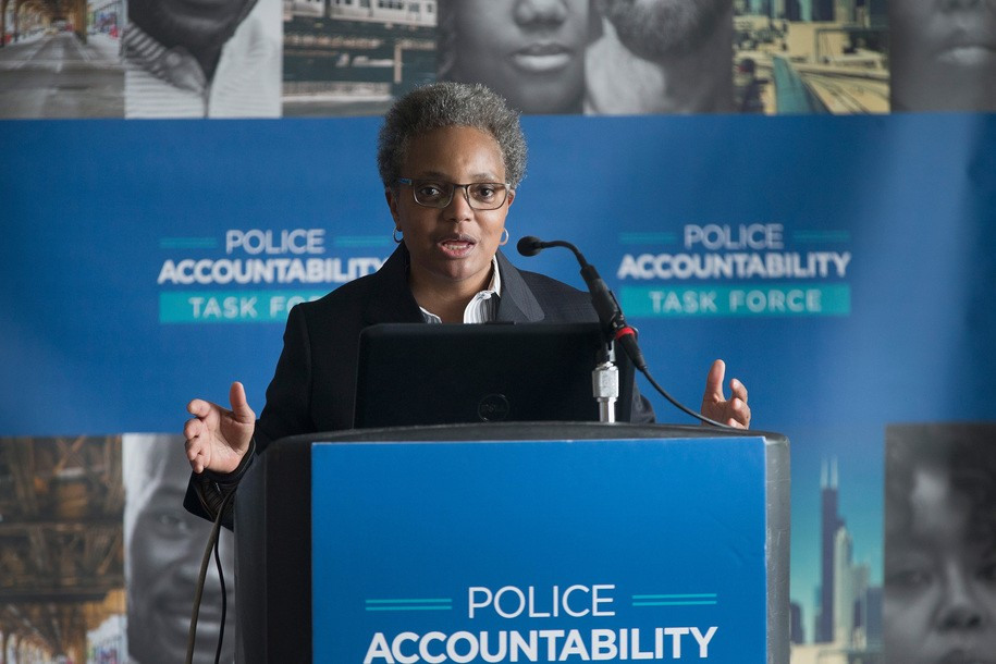 Chicago's mayoral election is coming up quickly, and Lori Lightfoot remains the clear favorite