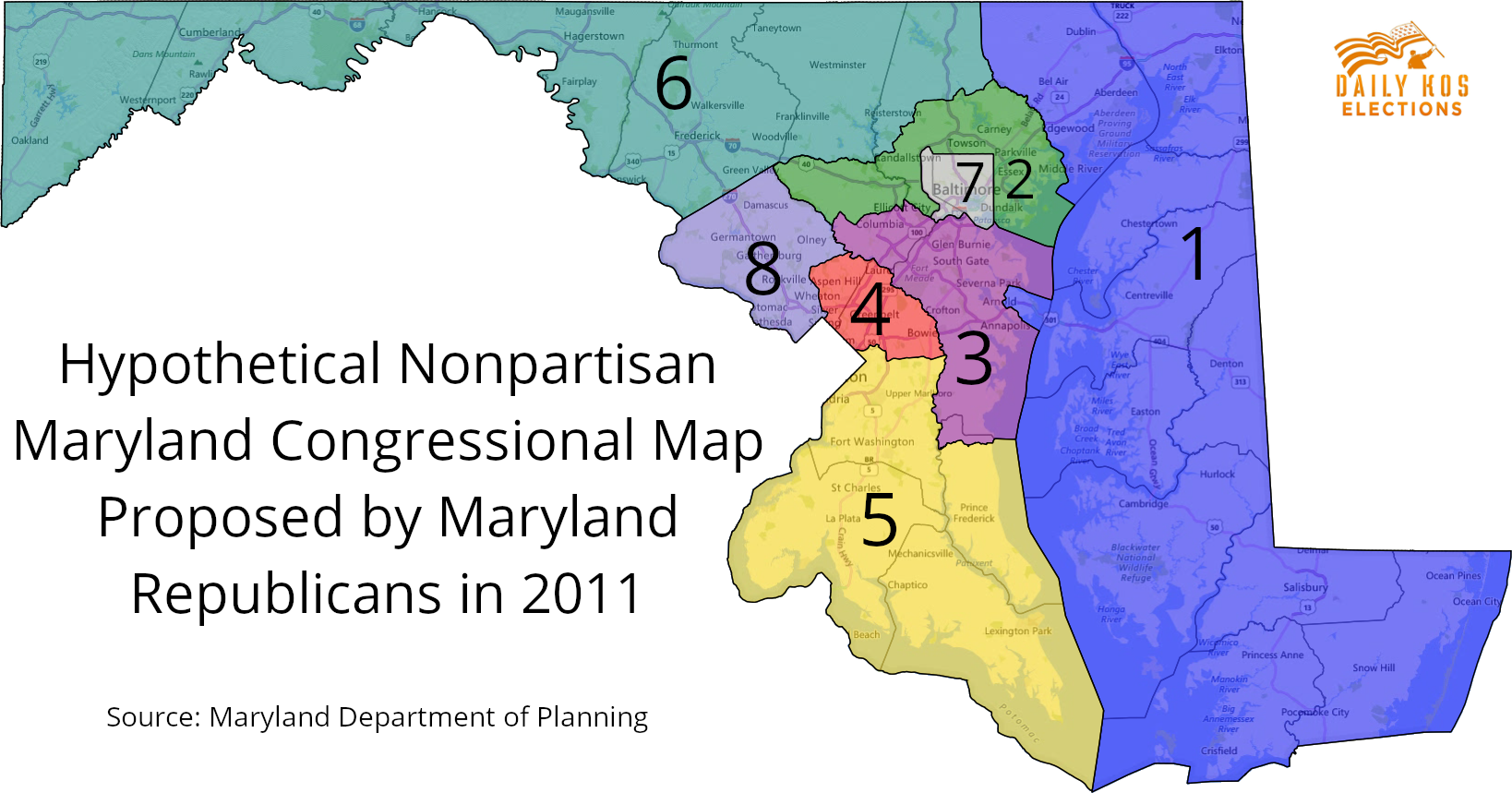maryland 6th congressional district polls - 1199×629