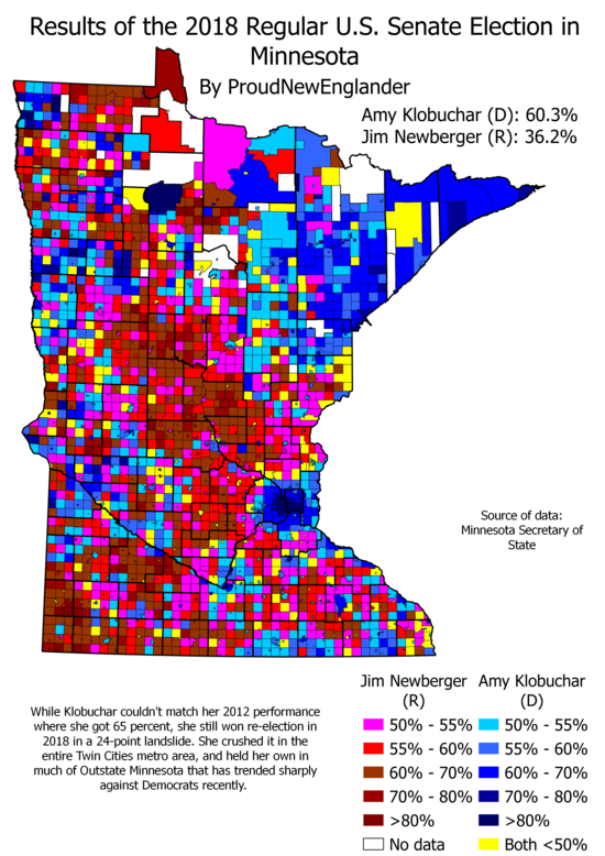 2012 United States Senate election in Minnesota
