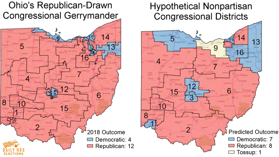 The Ohio gerrymandering court case: 'A map that Speaker Boehner supports'