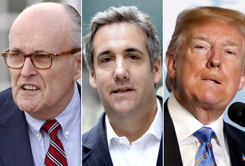 ABCNews -Two Sources Claim Giuliani Used Lawyers as Plants to Keep Cohen from Turning on Trump