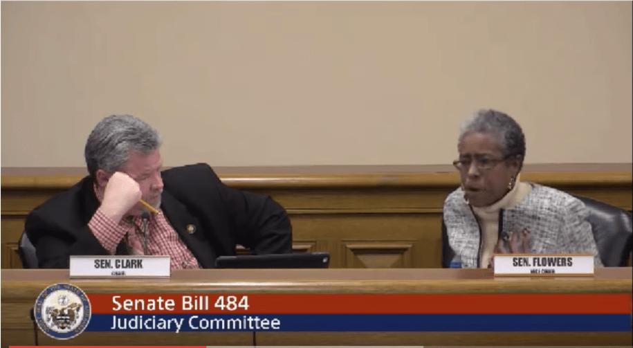 Arkansas Senator Stephanie Flowers slams 'stand your ground' bill in viral clip