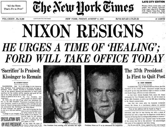 Image result for nixon impeached