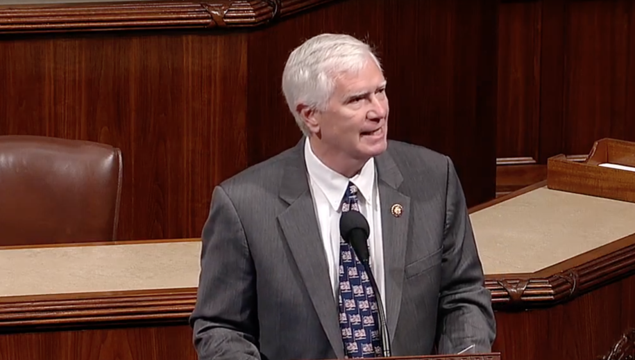 Here's Republican Mo Brooks reading Hitler quotes on the floor of the House today