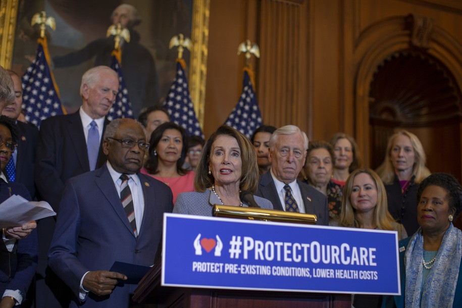 House Democrats pass package of bills to strengthen Obamacare, Republicans whine 'gotcha politics'