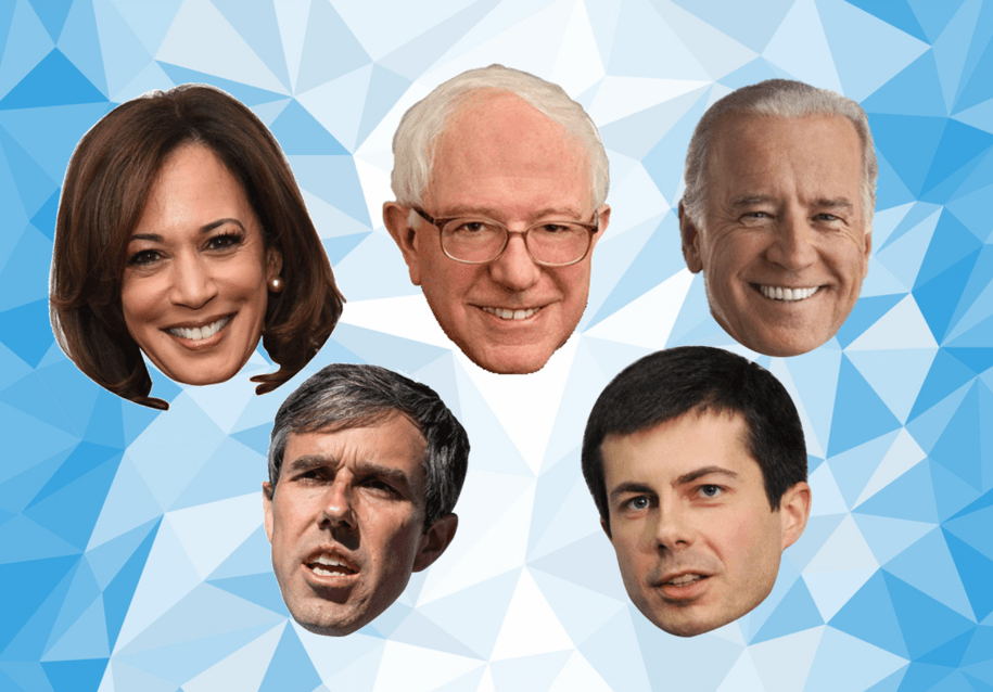 2020 Democratic Primary Straw Poll (includes all 20 candidates)