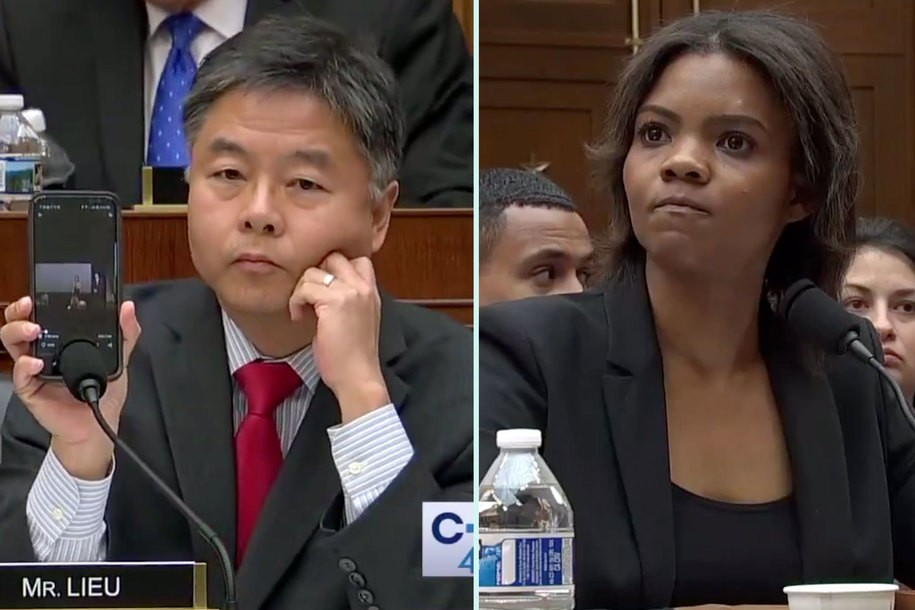 Watch as Rep. Ted Lieu lets right-wing pundit Candace Owens eat her own words