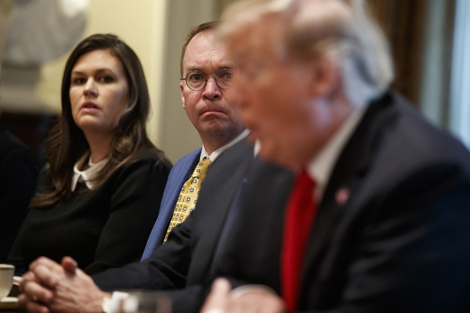 While Trump rages, a behind-the-scenes Mick Mulvaney quietly remakes the government