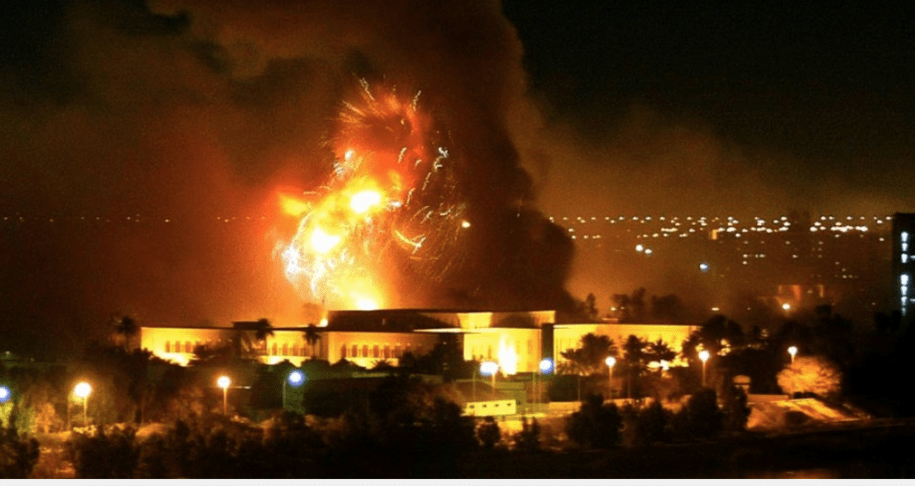 Shock and awe in Baghdad, March 20, 2003