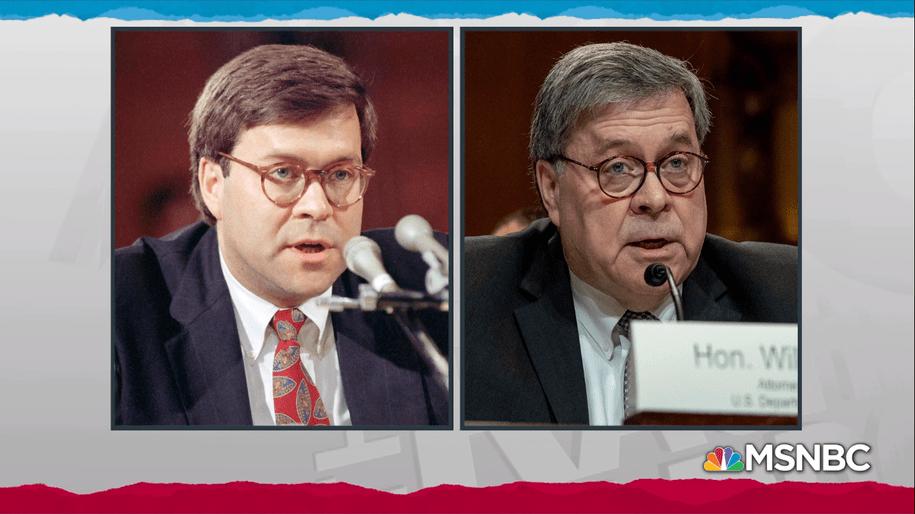 Trump and Barr bring three decades of GOP criminality full circle