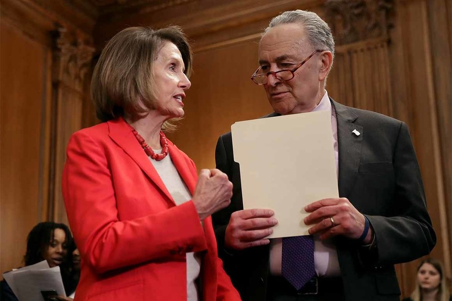 Schumer and Pelosi Issue Statement Calling for Mueller to Testify Before House and Senate.