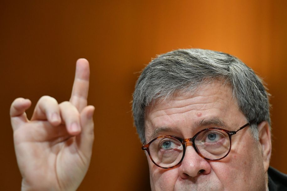 Bill Barr's authoritarian speech to the Federalist Society sparks sharp criticism