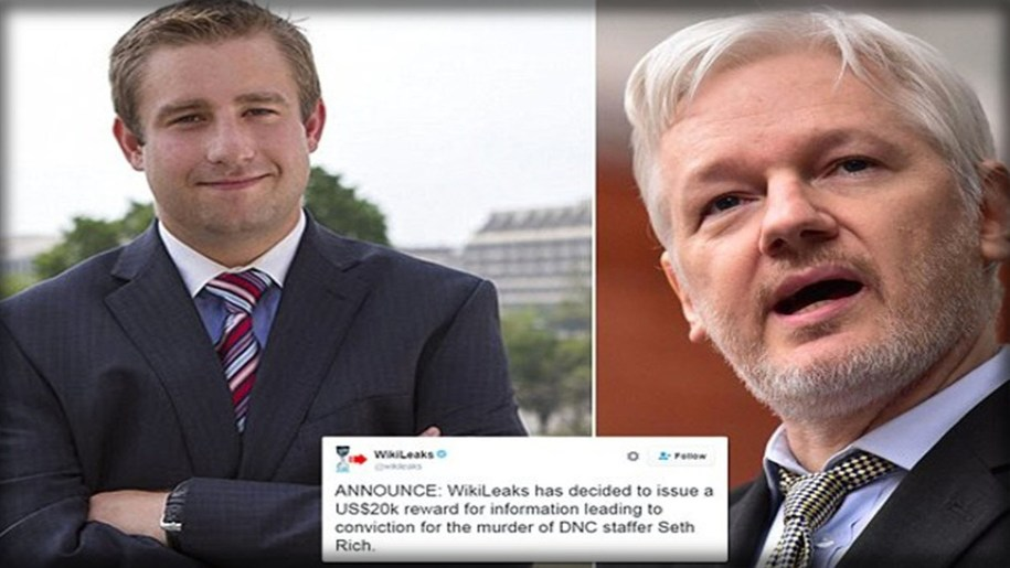Mueller Established Assange Cynically Used Seth Richs' Murder to Cover for His Russian Sources.